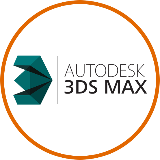 Button to showcase page with information about Autodesk 3ds max