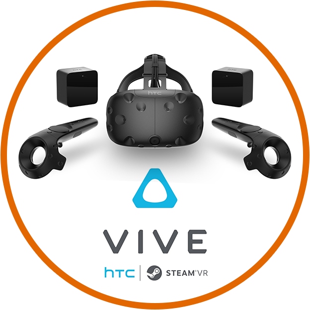HTC Vive Learn More
