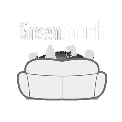 GreenCouch logo white